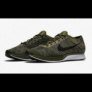 Nike Flynit Racer Green (Men) Size 10 USED